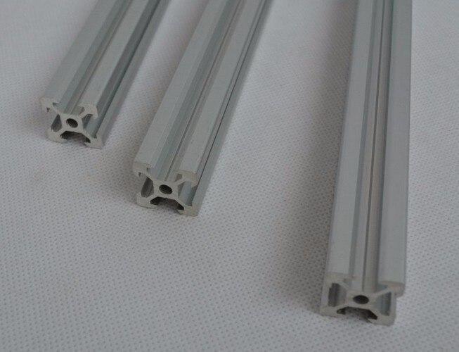 V fente rail profilé en aluminium extrusion 2020 6 pièces * 60 cm coupé CNC machine bâtiment partie titulaire livraison gratuite