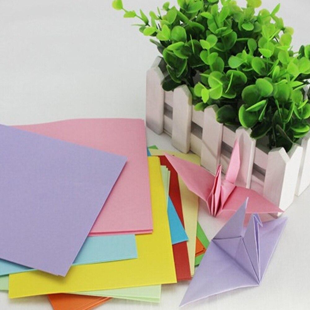 Scrapbook paper aliexpress - Diy Kid Gift 95pieces Set Mix Color Paper Fold Scrapbooking Paper Rose 14x14cm Craft Crane
