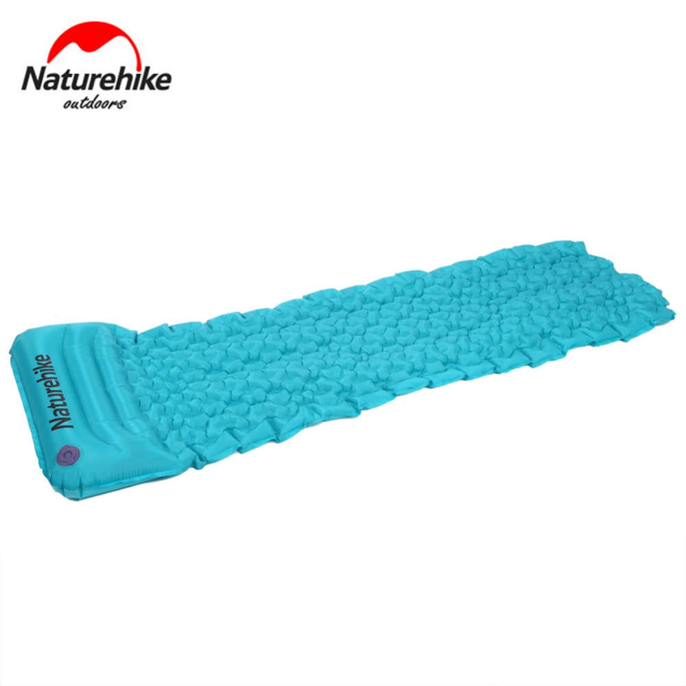 Naturehike Ultralight Sleeping Mattress with Pillow Moisture-Proof Inflatable Tent outdoor Camping Mat Air Bed Single Egg Pads raphael israeli dabry de thiersant