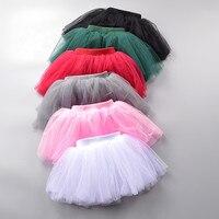 Baby Girls Skirt Infant Cute Ball Gown Dance Pettiskirt Net Veil Skirt Toddler Wedding Party Fluffy