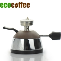Exquisite Stainless Steel Gas Stove Wonderful Furnace Coffee Maker Mocha Coffee Pot Field Furnace