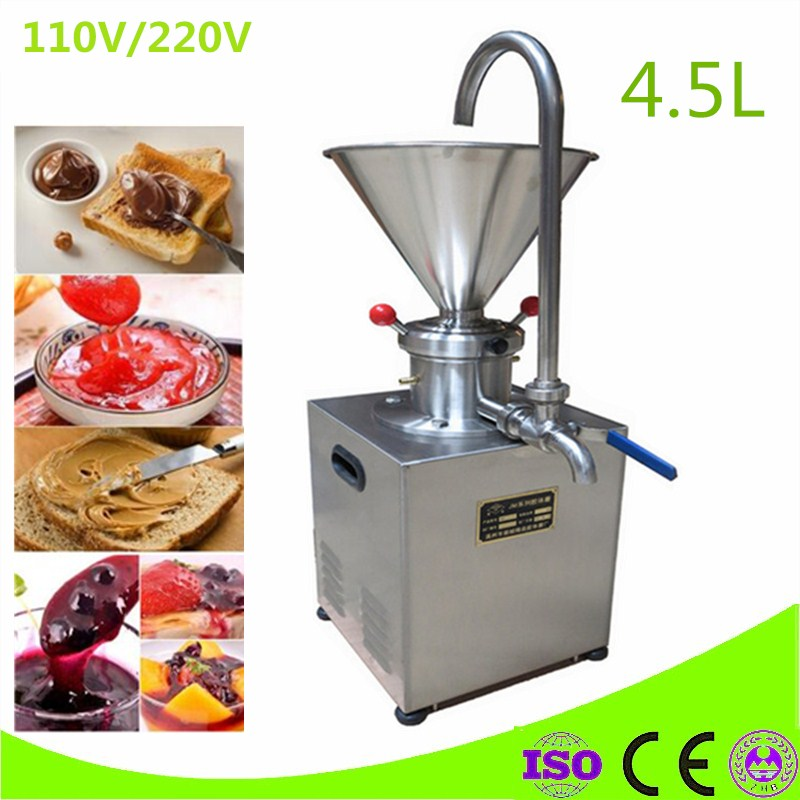 commercial use 110V 220v almond butter grinder, cocoa mill machine for sale,peanut butter machine vertical industrial almond milk machine peanut butter machine