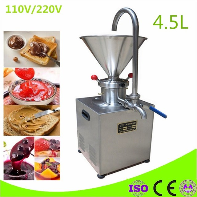 commercial use 110V 220v almond butter grinder, cocoa mill machine for sale,peanut butter machine
