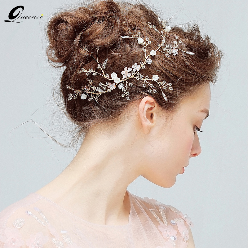 Luxus Kristall Braut Haar Reben Stirnband Handgemachte Hochzeit Kopfschmuck Stunning Partei Haar Schmuck Für Bräute Schmuck & Zubehör Schmucksets & Mehr