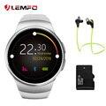 LEMFO KW18 Smart Watch Bluetooth Монитор Сердечного ритма Интеллектуальный smartWatch Поддержка SIM TF Карты для apple samsung Телефон
