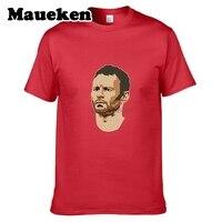 Men United Kingdom Captain 11 Ryan Giggs Manchester Legend T Shirt Clothes T Shirt Men S