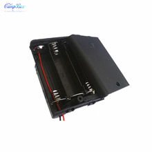 50Pcs 3xAA Battery Case Holder Socket Wire Junction Boxes  With Wires, Switch&Cover