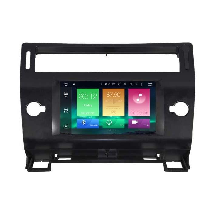 Android 6.0 Car dvd Radio GPS Media autoradio Player For CITROEN <font><b>C4</b></font> 2Gb+32Gb PX5 8-Core