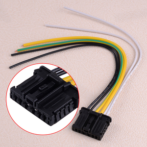 DWCX Rear Tail Light Loom Wiring Connector fit for Peugeot 1007 2008 206 207 208 2008 307 3008 308 508 Citroen C2 C3 C4 C5 DS3(China)