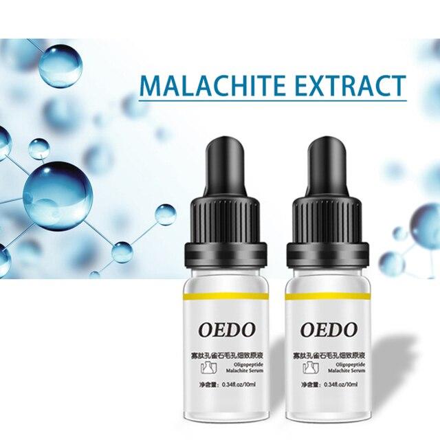 US $3 38  OEDO Oligopeptide Malachite Liquid Fine Pore Firming Whitening  Essence Anti aging Face Serum Skin Care-in Serum from Beauty & Health on