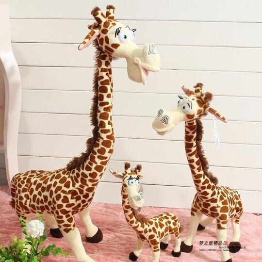 Jg Chen 50 cm girafe en peluche jouets mignon girafes Madagascar jouets pour enfants poupée bébé jouet brinquedos cadeau d'anniversaire