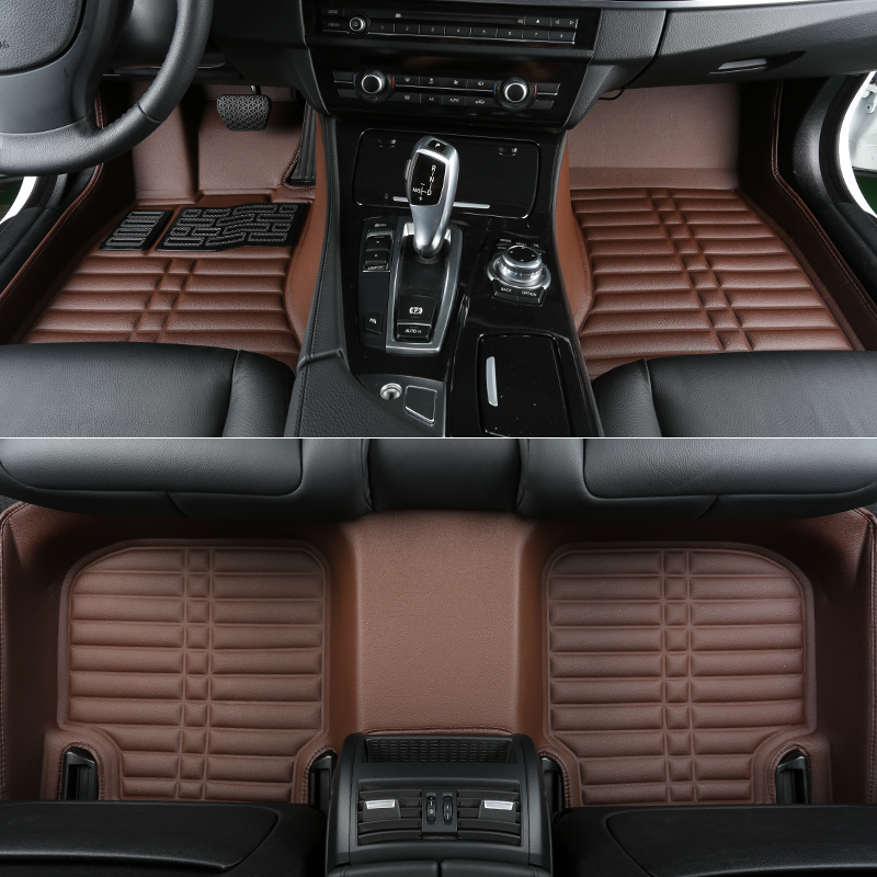 Chowtoto Custom Car Floor Mats For Mitsubishi Outlander