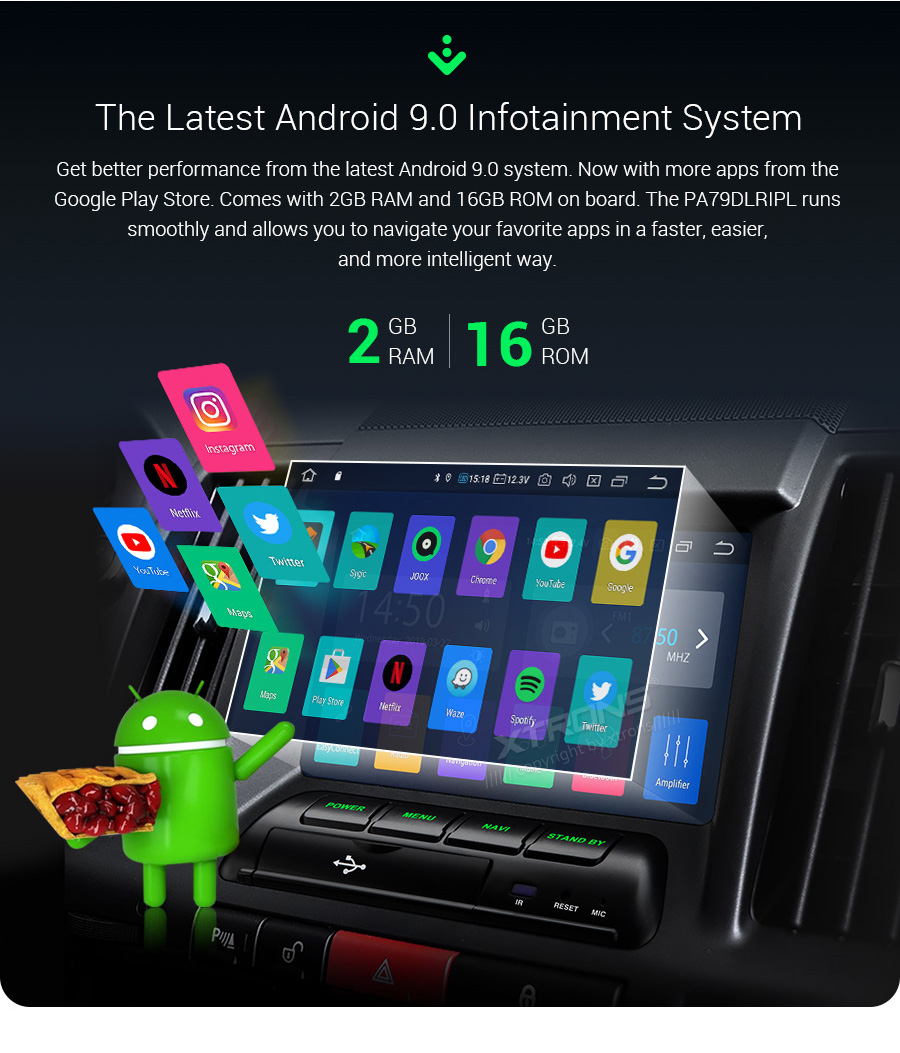 """Perfect 7"""" Android 9.0  Car Multimedia Navigation GPS radio for Land Rover Freelander 2 2006 2007 2008 2009 2010 2012 2013 2014 (L359) 3"""
