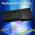 Jigu batería ordenador portátil del reemplazo para dell inspiron 1501 6400 e1505 latitude 131l vostro 1000 312-0461 451-10338 gd761 rd859 ud267