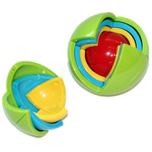 NEW Puzzle ball 3D intelligence ball stereo assembled children's educational toys 4-10 male intelligence development maze ball