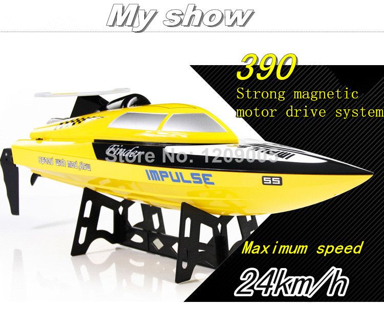 Remote Control Toys Wltoys WL912 2.4G Electronic 4CH Model Boat High Speed RC Boat Electric RTF better than ft007 45CM Righting