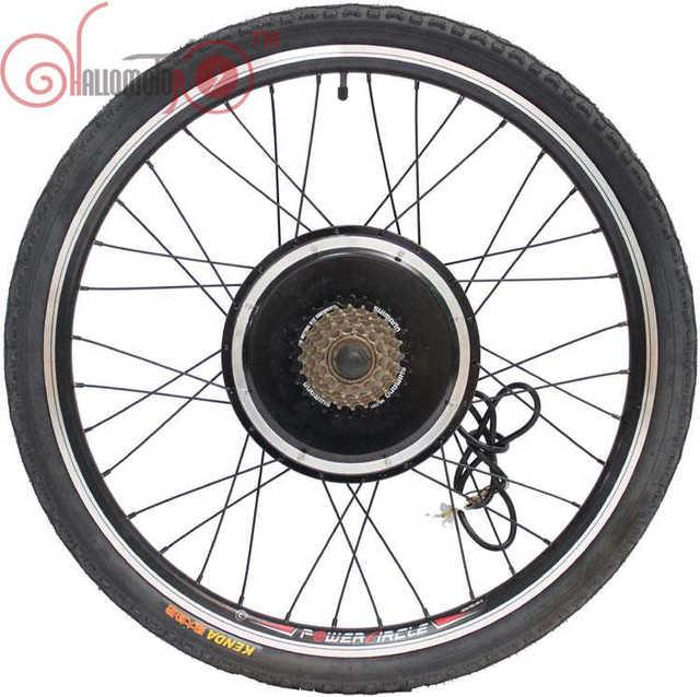 Conhismotor Ebike 36v 48v 500w 20inch 700c Electric Bike Rear Wheel Driving Brushless Gearless Hub Motor Sd Gear