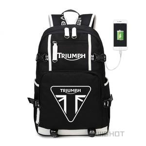 Image 1 - WISHOT حقيبة ظهر للمراهقين المراهقين متعددة الوظائف مزودة بمنفذ USB حقائب مدرسية للطلاب والنساء حقائب سفر