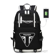 WISHOT triumph multifonction USB chargeur sac à dos adolescents hommes femmes étudiants sacs décole sacs de voyage