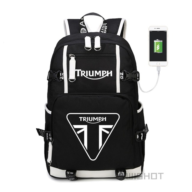 WISHOT triumph multifunction USB charging  backpack teenagers Men womens Student School Bags travel Bags
