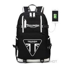 Wishot triumph multifunction carregamento usb mochila adolescentes sacos de escola estudante das mulheres dos homens sacos de viagem