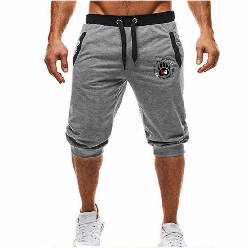 2019 Summer New Mens Shorts JUST BREAK IT Printed Casual Fashion Jogger Knee Length Sweatpants Man Fitness Hip Hop Shorts