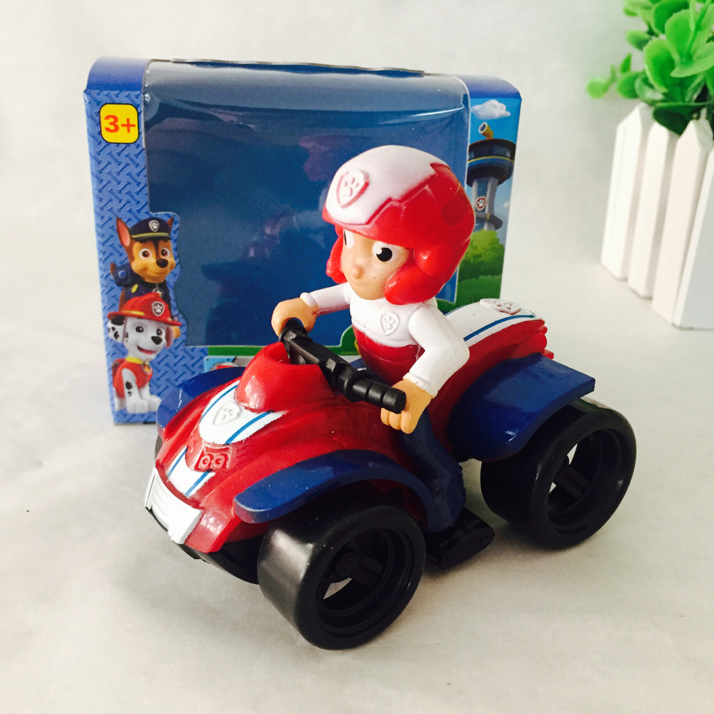 AUTOPS Ryder Vehicle Car Puppy Patrol Dog In Stock Russian Kid Toy Patrulla Canina Toys Spain Patrol Canine Birthday Gift