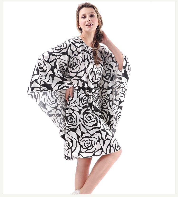 Satin Rose Robes for Brides Wedding Robe White Bl Sleepwear Silk ... 69f4eca21
