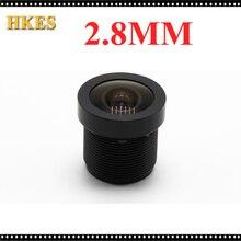 "CCTV Lens 1080P 130 degreee 1/2.5"" 2.8mm For HD Full HD CCTV Camera IP Camera M12*0.5 MTV Mount"