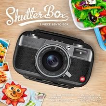 Gamebox Kamera Radio Kunststoff Sushi Mittagessen Bento Box Mikrowellen Lunchbox Mit Löffel Gabel Büro Schule