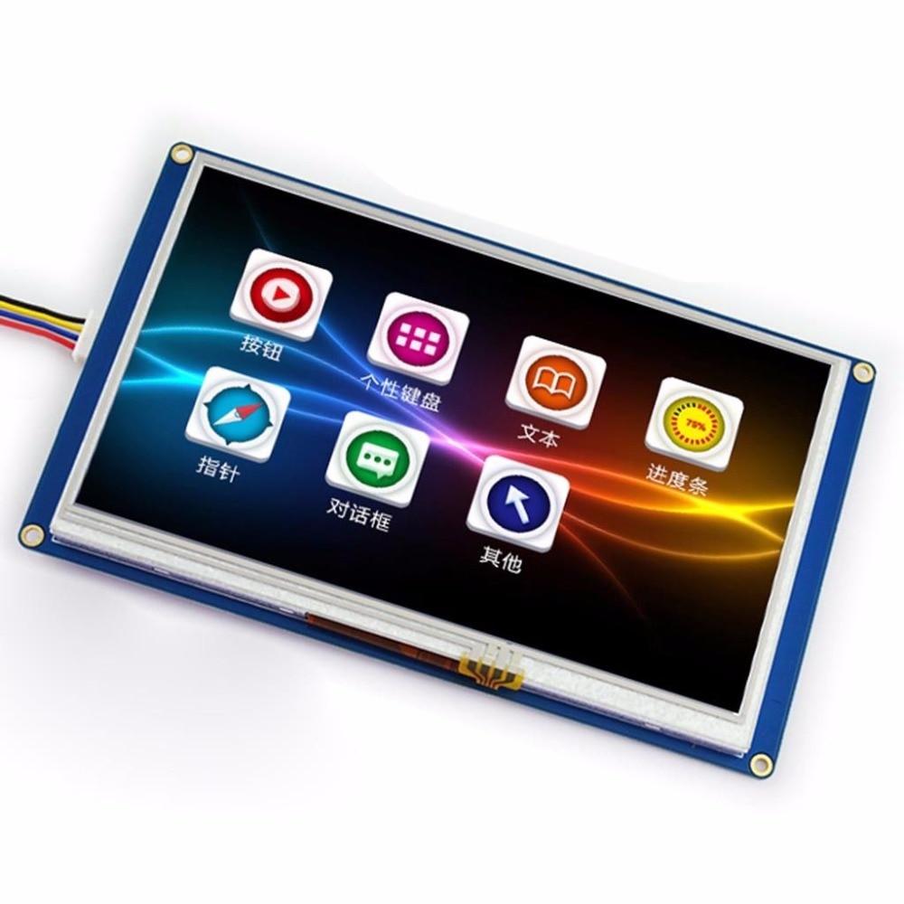 """Оптоэлектронный дисплей 7.0 """" nextion UART"""