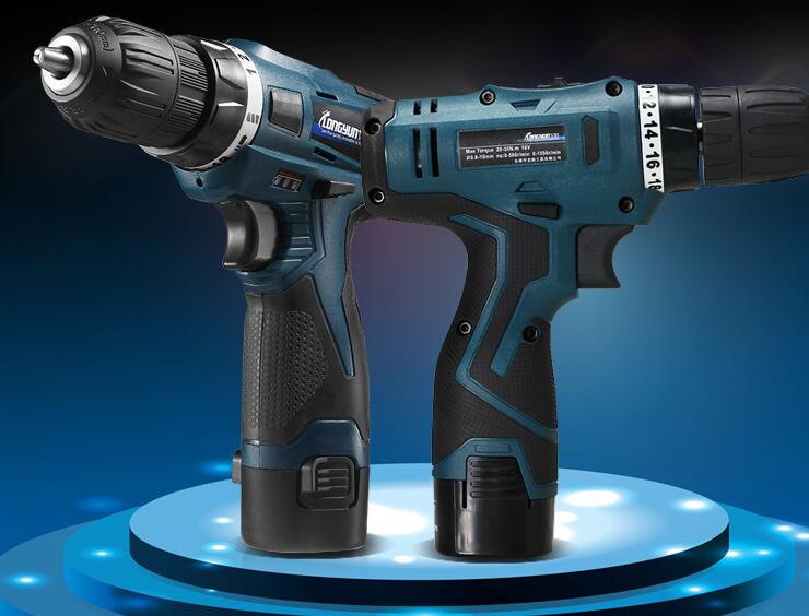 Professional 24V Double speed Lithium Battery Cordless Drill Power Tools Mini Drill Electric Drill with 2 year warrantly