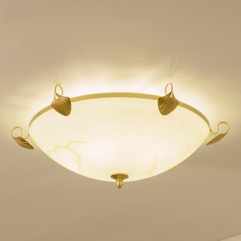 modern simple e27 round ceiling lamp bedroom wrought iron desk lamp home warm corridor ceiling light ZA925930