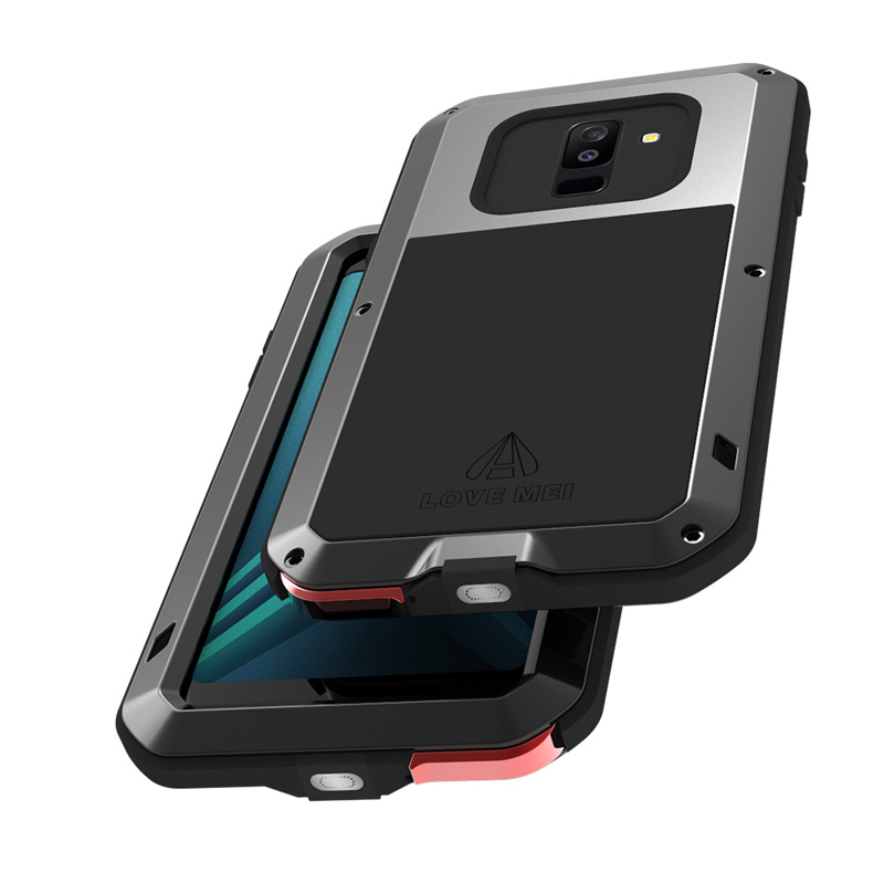 Aluminum Metal Cover For Samsung Galaxy A6 Plus Waterproof Full Body Heavy Duty Armor Case For Samsung A6 2018 Shockproof CaseAluminum Metal Cover For Samsung Galaxy A6 Plus Waterproof Full Body Heavy Duty Armor Case For Samsung A6 2018 Shockproof Case