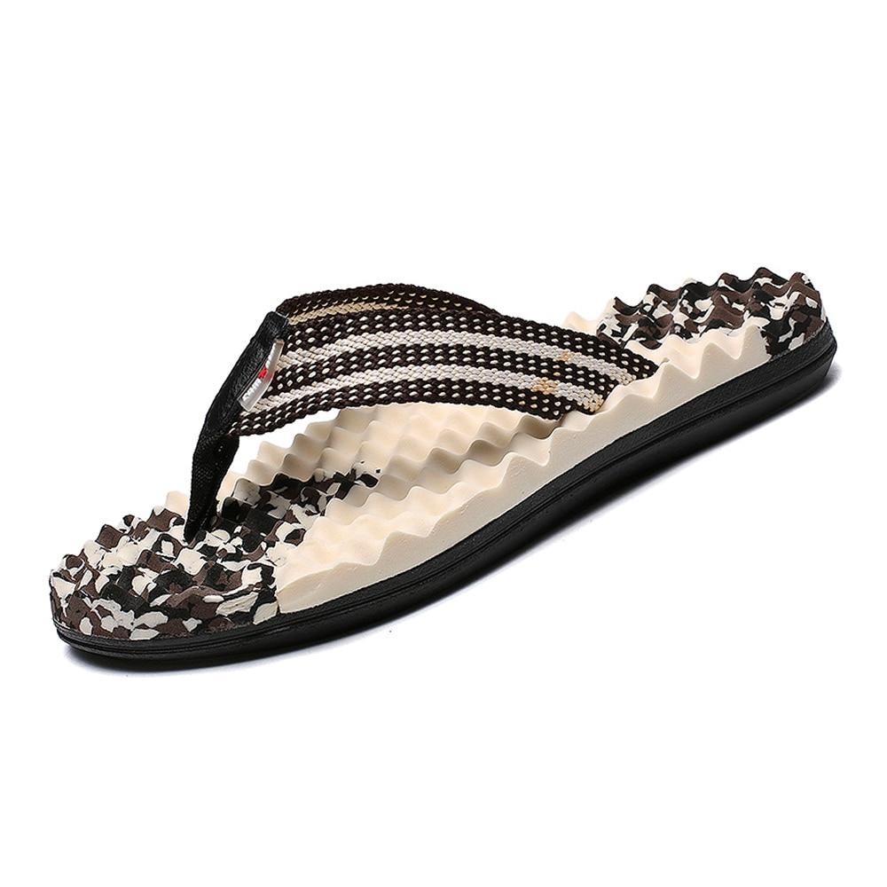 Summer Mens Sport Flip Flops Beach Sandals For Men Flat Slippers Non-Slip Outside Shales Shoes Sandals Pantufa SX5