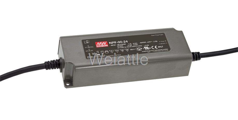 MEAN WELL original NPF-90-54 54V 1.67A meanwell NPF-90 54V 90.18W Single Output LED Switching Power Supply