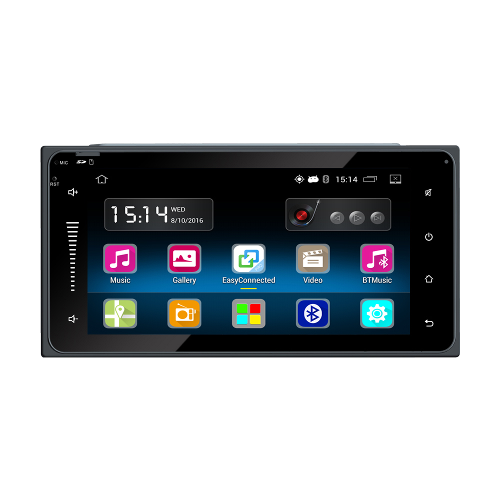 2 din android 5 1 car radio stereo 6 touch screen high. Black Bedroom Furniture Sets. Home Design Ideas