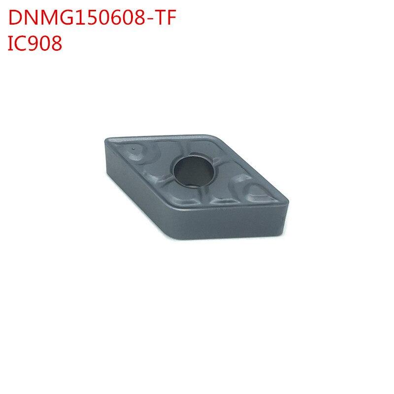 100 pcs Externe Outils de Tournage DNMG150608 TF IC908 Carbure inserts Tour de coupe Outil De Coupe CNC Outils Tokarnyy