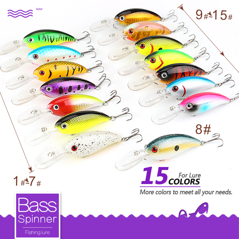 DONQL Minnow Crankbait Balıkçılık Cazibesi 14g 10 cm Wobblers - Balık Tutma - Fotoğraf 2