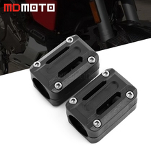 Motorcycle 22/25/28mm Engine Protection Guard Bumper Decor Block For BMW R1200GS R1150GS ADV R1100GS F800GS F650GS F700GS HP2