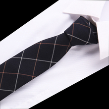 Fashion Mens Colourful Tie Cotton Formal Ties Necktie Narrow Slim Skinny Cravate Thick Neckties
