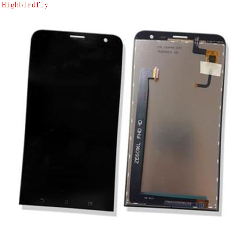 Highbirdfly For Asus Zenfone 2 Laser Ze601KL Lcd Screen Display+Touch Glass Ditigizer Assembly Repair Pantalla