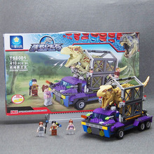 Jurassic World Park Minifigures toys Mini Figure movie Kid Baby Toy Building Blocks Compatible legoed Sets Model Toys Brick