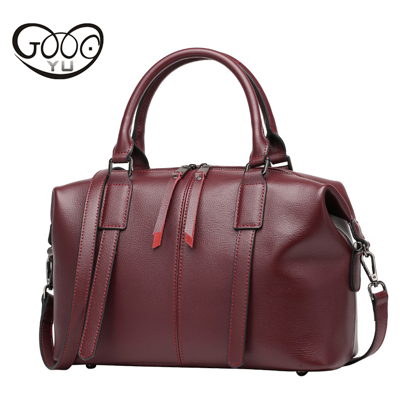 Designer Genuine Leather Bags Ladies Famous Brand Women Handbags High Quality Tote Bag for Women Fashion Hobos Bolsos Travel Bag