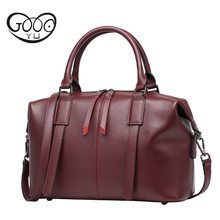 Designer Genuine Leather Bags Ladies Famous Brand Women Handbags High Quality Tote Bag for Women Fashion Hobos Bolsos Travel Bag цена