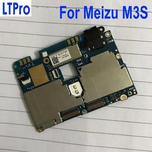 Image 1 - LTPro מקורי נבדק mainboard עבור Meizu Meilan 3 s M3s מיני 16 gb האם ראשי לוח מעגל דמי אלקטרוני פנל להגמיש כבל
