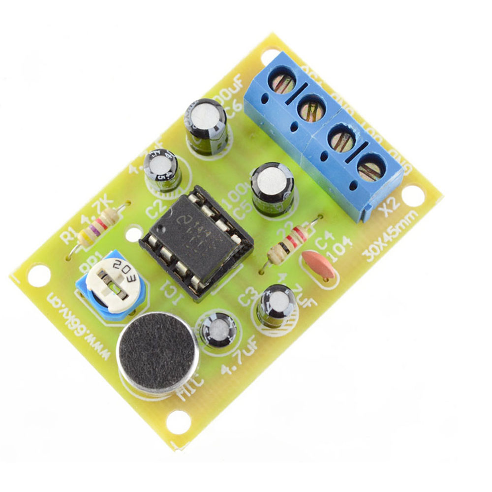 Power Led Driver Circuit Audio Lifier Ic Diy Kit Lm386 Integrated Voice Amplifier Board Parts Electronic Production Suite In Circuits From