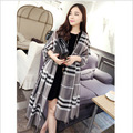 20164 color hot fashion luxury brands plaid cashmere shawl scarf cloak winter charm women's fashion accessories Holiday gifts