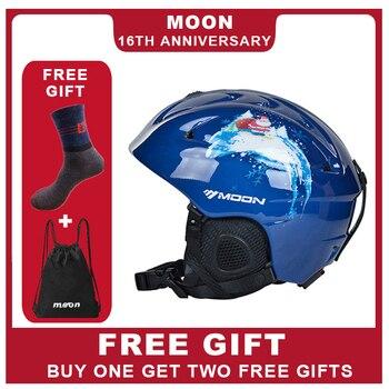 문 스키 헬멧 최신 스타일 전문 스키 스포츠 보호 헬멧 눈 안전 야외 스키 고품질 헬멧