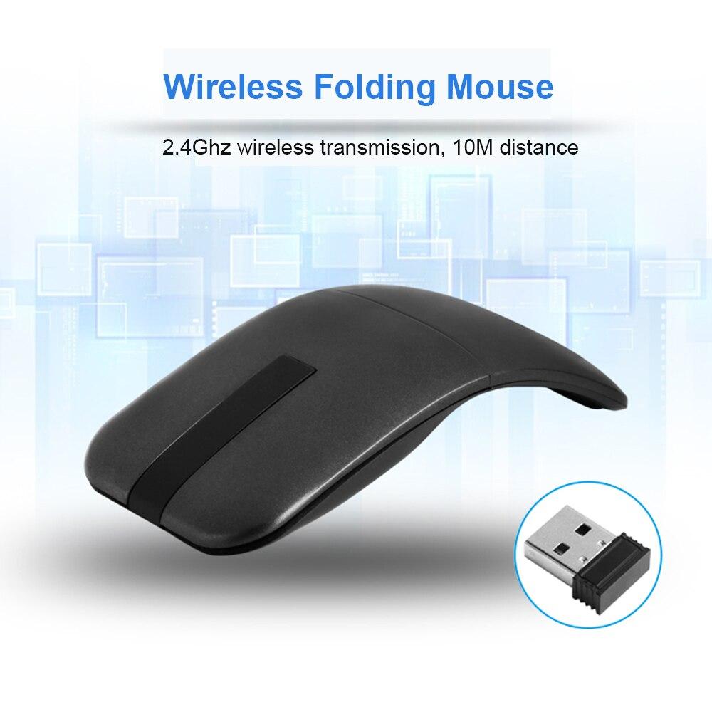 ヾ(^  ^)ノCHYI Folding Wireless Mouse Comfort Foldable Mause ...
